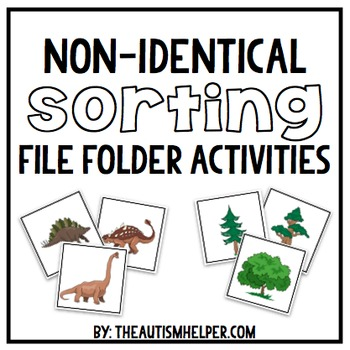 File Folder Activities for Non-Identical Sorting