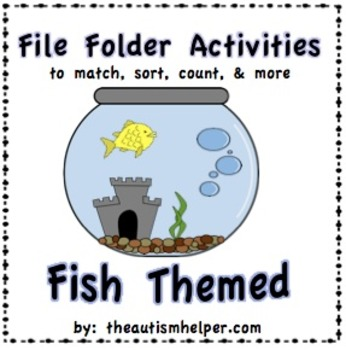 File Folder Activities to Match, Sort, Count, and More! {F