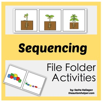 File Folder Activities to Work on Sequencing