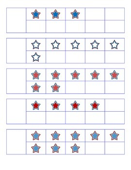 File Folder Activity Number to Quantity 1-10 Ten Frames (P