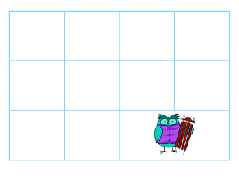File Folder Activity Sequence to 100 by 10's (Light Blue,