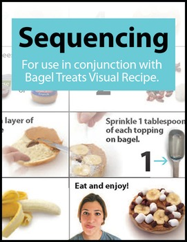 File Folder Activity: Sequencing from a Visual Recipe