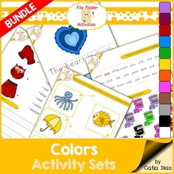 File Folder Activity Set - All Colors Bundled