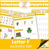 Letter F - File Folders