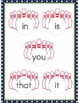 File Folder Game Bowling (Fry Sight Words)