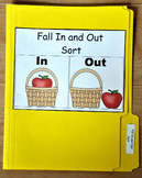"File Folder Game--""Fall In and Out Sort"""