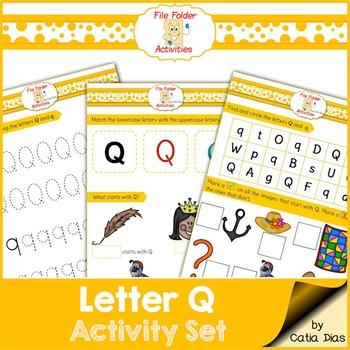 Letter Q - File Folders
