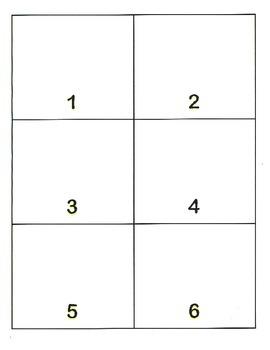 File Folder Show Quantity Given Numeral 1-10 (Beach Theme)