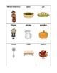 Thanksgiving Vocabulary - Writing Workshop Resource