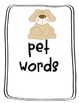 Mini Word Walls (File Folder Word Boards)