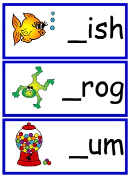 Fill In The Beginning Sound