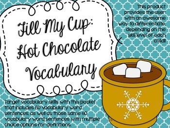 Fill My Cup: Hot Chocolate Vocabulary
