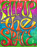 Fill Up the SPACE in color
