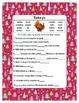Fill in the Blank  ~ Turkey ~ One Work Sheet ~ Many Season