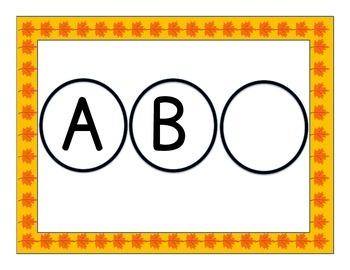 Fill in the Missing Alphabet Letter