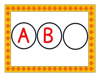 Fill in the Missing Alphabet Letter in Spanish