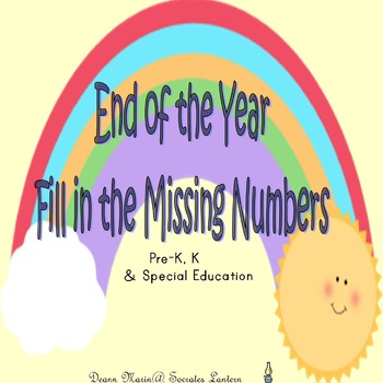 Fill in the Missing Numbers for the End of the Year