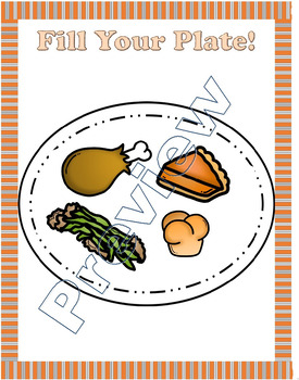 Fill your plate-Thanksgiving