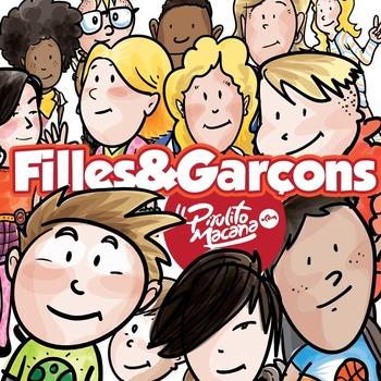 Filles & Garçons d'aujourd'hui - Modern Girls & Boys - Clip Arts