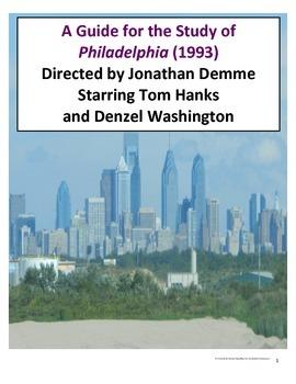 Film Guide for Philadelphia (1993) Dir. Jonathan Demme Sta