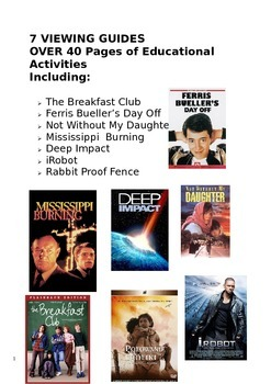 Film Movie Guide Bundle includes The Breakfast Club and Fe