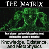 Film: The Matrix (first film) test and discussion/essay questions