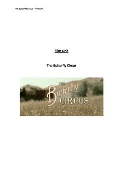 Film Unit - The Butterfly Circus