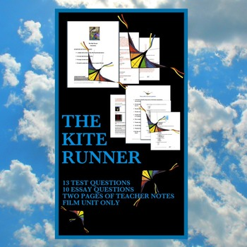 Kite Runner (test and questions) (film study)