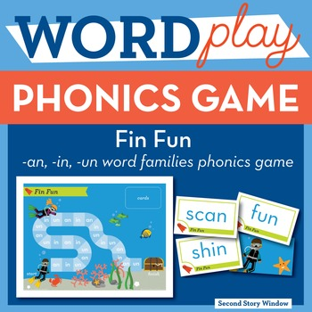 Fin Fun Mixed Vowel Word Families Phonics Game