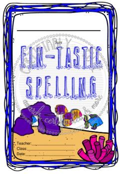 Fin-Tastic Spelling Award