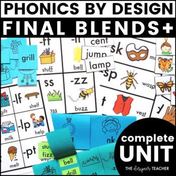 Phonics By Design Final Blends+ 25-Day Unit BUNDLE