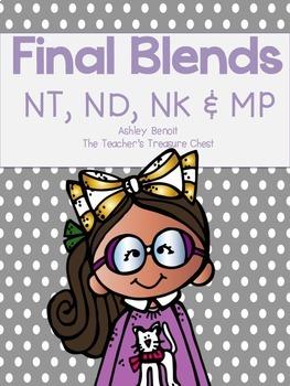 Final Blends Literacy Centers {N & MP}