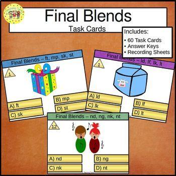 Final Blends Clip Cards