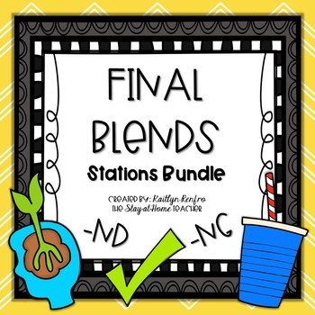 Final Blends and Digraphs - Puzzle Pack