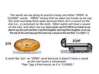 Final Consonant Deletion Mini-Lesson and Practice