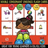 ll,ss,ff,zz Double Consonant Endings Flash Cards