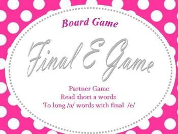 Final e (a_e) Game