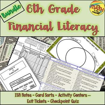 Financial Literacy Growing Bundle