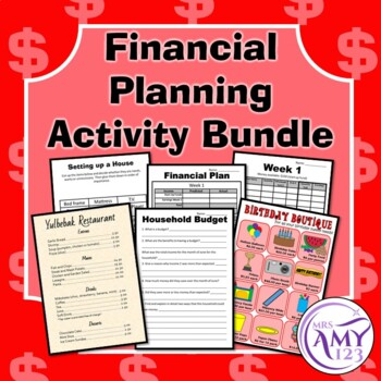 Financial Planning Activity Bundle