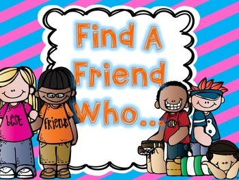 Find A Friend Questionnaire