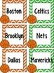 Find A Partner Cards (Basketball Teams)