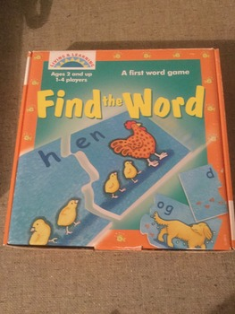 Find - A- Word Game by Living and Learning
