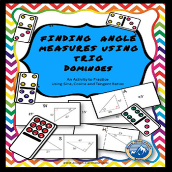 Find Angle Measures Using Trig Domino Set