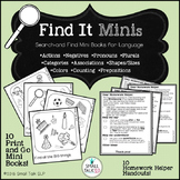 Find It Minis for Language Skills