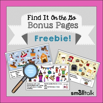 Find It on the Go Bonus Pages