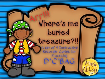 Find Me Buried Treasure: 9 Games for Practicing D'C'BAG Pa