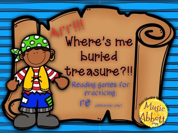 Find Me Buried Treasure: Four Games for Practice re (pent.