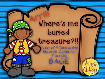 Find Me Buried Treasure: 9 Games for Practicing BAGE Patte