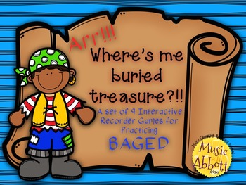 Find Me Buried Treasure: Nine Game for Practicing BAGED Pa