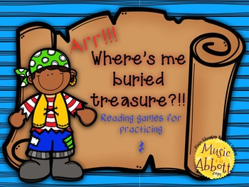 Find Me Buried Treasure: Two Games for Practicing Quarter